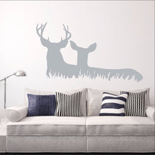 Load image into Gallery viewer, Deer in Grass Style C Vinyl Wall Decal  22328 - Cuttin' Up Custom Die Cuts - 1
