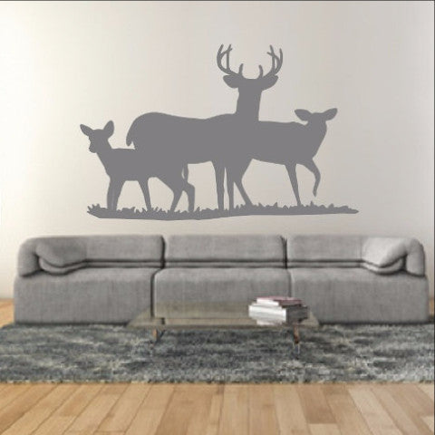 Deer Style E Wall Decal 22330 - Cuttin' Up Custom Die Cuts - 1