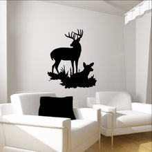 Load image into Gallery viewer, Deer Style I Vinyl Wall Decal  22335 - Cuttin' Up Custom Die Cuts - 1