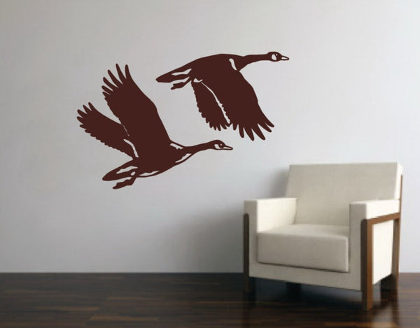 Geese Style B Vinyl Wall Decal 22339 - Cuttin' Up Custom Die Cuts - 2