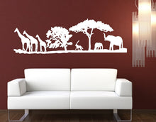 Load image into Gallery viewer, African Savannah Animals Vinyl Wall Decal 22346 - Cuttin' Up Custom Die Cuts - 2