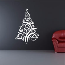 Load image into Gallery viewer, Christmas Tree Style C Removable Vinyl Wall Decal  22360 - Cuttin' Up Custom Die Cuts - 1