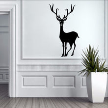 Load image into Gallery viewer, Reindeer Style B Christmas Removable Vinyl Wall Decal 22363 - Cuttin' Up Custom Die Cuts - 1