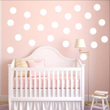 Load image into Gallery viewer, Polka Dots Set of 24 Childrens Room Nursery Decor 22402 - Cuttin' Up Custom Die Cuts - 1