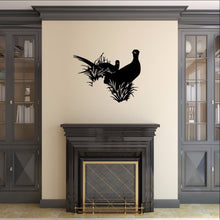 Load image into Gallery viewer, Pheasants in Grass Style B Vinyl Wall Decal 22420 - Cuttin' Up Custom Die Cuts - 1