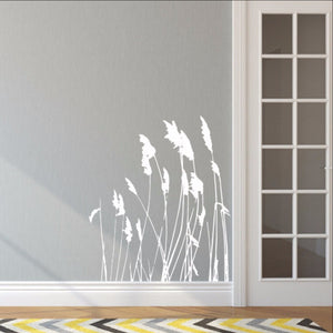 Sea Grass Style A Vinyl Wall Decal - Beach Decor 22422 - Cuttin' Up Custom Die Cuts - 1