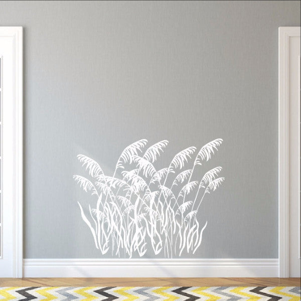 Sea Grass Style B Decal Vinyl Wall Decal 22423 - Cuttin' Up Custom Die Cuts - 1