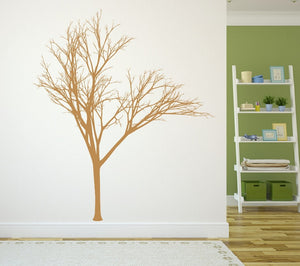 Winter Tree Style 2B Large Vinyl Wall Decal 22221 - Cuttin' Up Custom Die Cuts - 2