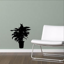 Load image into Gallery viewer, Houseplant Silhouette Style A Wall Decal - Plant Decor 22514 - Cuttin' Up Custom Die Cuts - 1