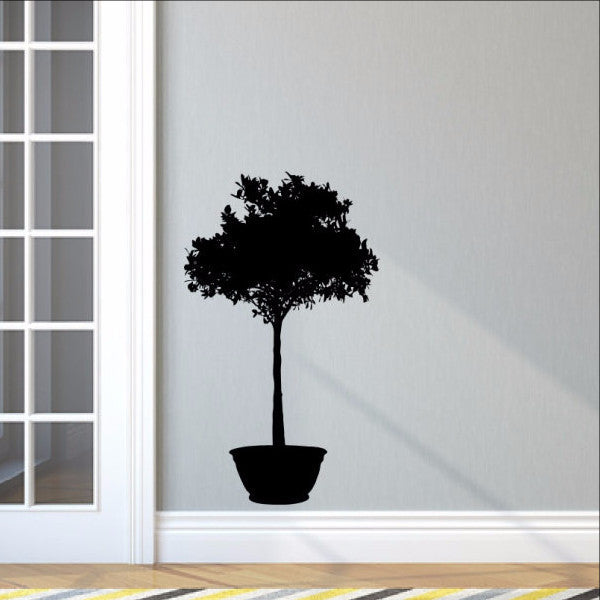 Houseplant Style B Vinyl Wall Decal 22515 - Cuttin' Up Custom Die Cuts - 1