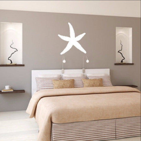 Starfish Vinyl Wall Decal 22521 - Cuttin' Up Custom Die Cuts - 1
