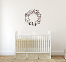 Load image into Gallery viewer, Laurel Vine Wreath Vinyl Wall Decal 22543 - Cuttin' Up Custom Die Cuts - 3