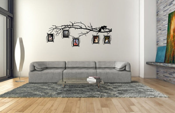 Tree Branch Photo Frames Decal Set - Family Tree Decal 22549 - Cuttin' Up Custom Die Cuts - 2