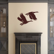 Load image into Gallery viewer, Geese Style B Vinyl Wall Decal 22339 - Cuttin' Up Custom Die Cuts - 1