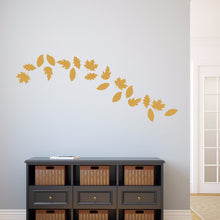 Load image into Gallery viewer, Fall Leaves Set of 20 Vinyl Wall Decals 22584