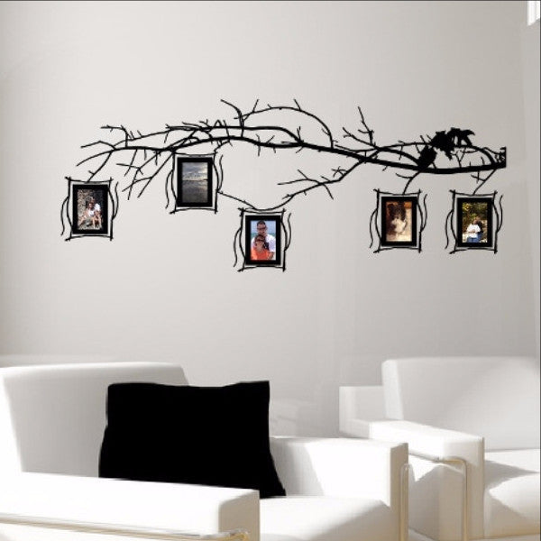Tree Branch Photo Frames Decal Set - Family Tree Decal 22549 - Cuttin' Up Custom Die Cuts - 1