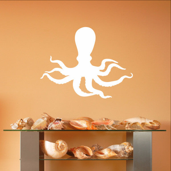 Octopus Style C Vinyl Wall Decal 22567 - Cuttin' Up Custom Die Cuts - 1