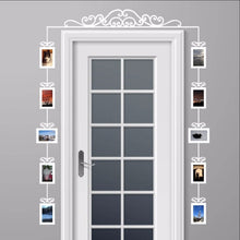 Load image into Gallery viewer, Over The Door Swirl Scroll Photo Frames Set of 10 Vinyl Wall Decals 22540 - Cuttin' Up Custom Die Cuts - 1