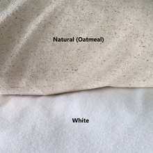 Load image into Gallery viewer, White Or Natural Pillow Cover Fabric