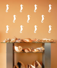 Load image into Gallery viewer, Seahorse Style A Set of 5 Inch Vinyl Wall Decals 22564 - Cuttin' Up Custom Die Cuts - 2