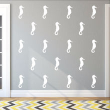 Load image into Gallery viewer, Seahorse Style A Set of 5 Inch Vinyl Wall Decals 22564 - Cuttin' Up Custom Die Cuts - 1