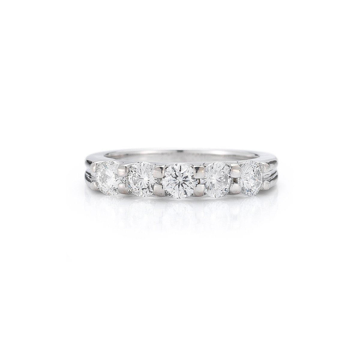 round jewelry carat ring in ben jeweler bridge platinum diamond baguette