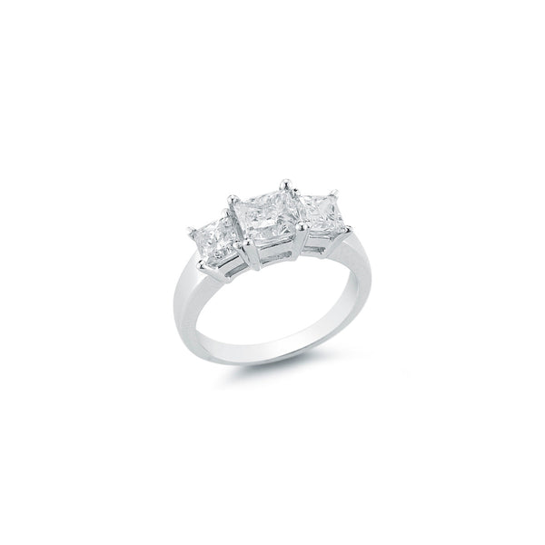 The Maharani Princess Trilogy Engagement Ring