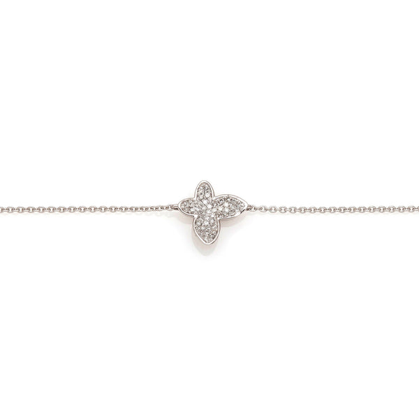 Diamond Butterfly Stackable Bracelet- 35% OFF!