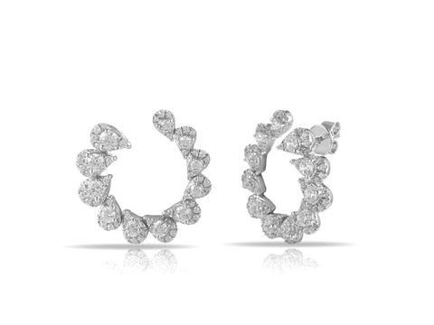 Circle of Diamonds Earrings