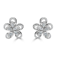 The Petals of Diamonds Earrings
