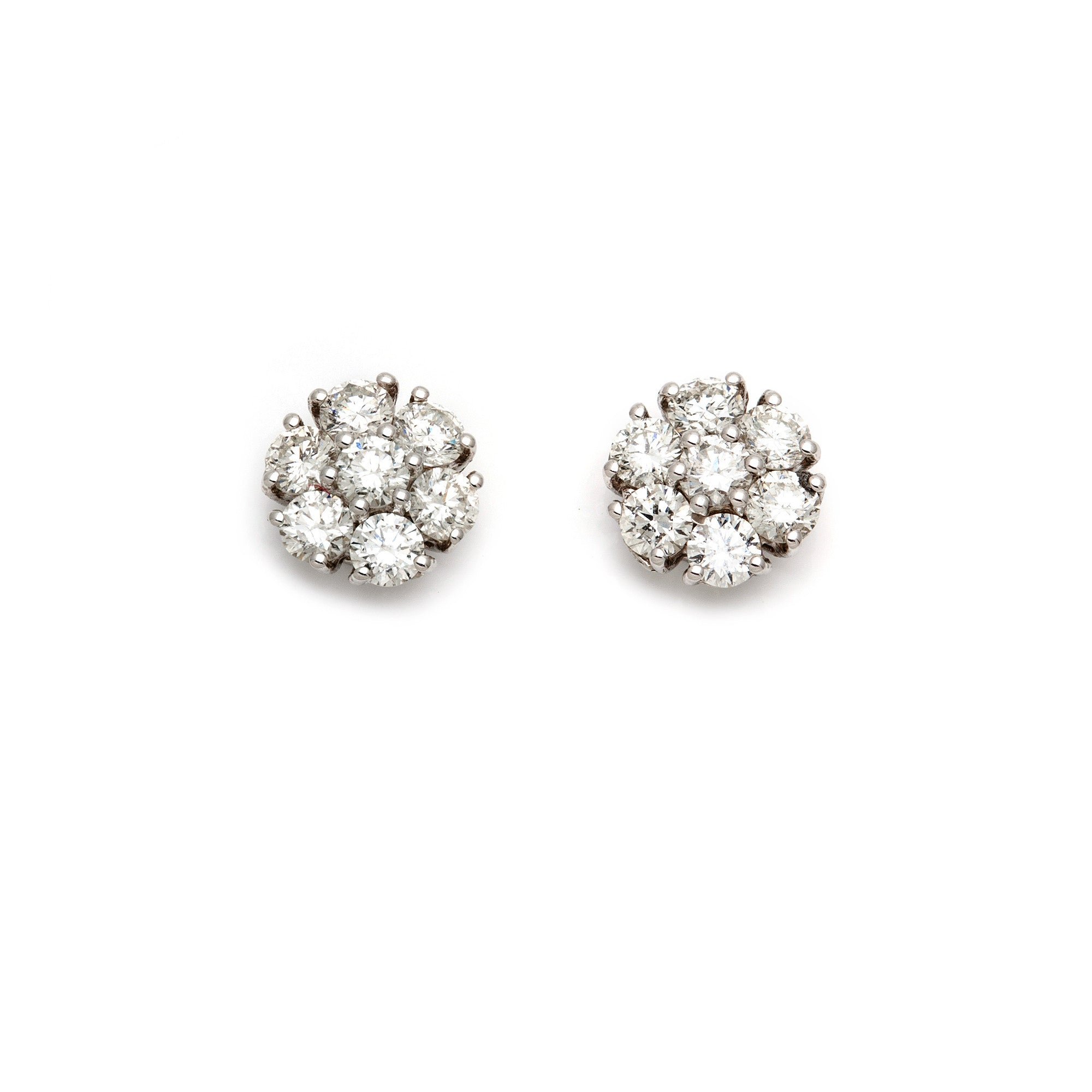 Cluster Illusion Studs-10% OFF!