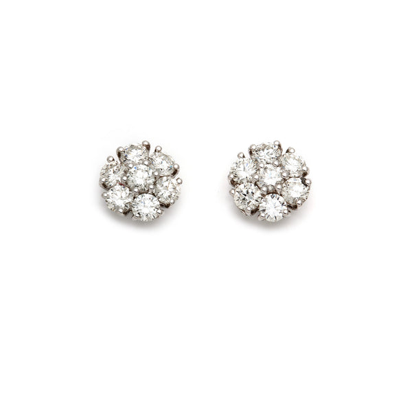 Cluster Illusion Studs-65% OFF!