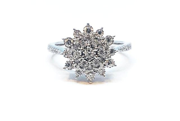 Cluster Flower Ring--OVER 65% OFF!