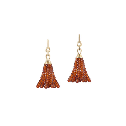 Beyond Citrine Tassel Earrings