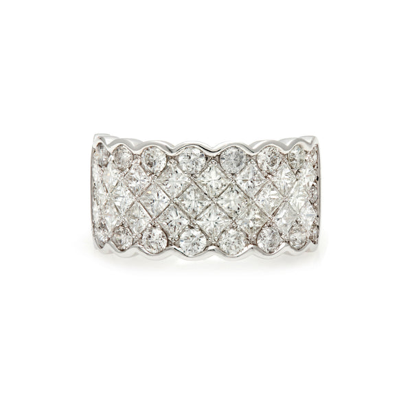 The Zigzag Diamond Ring