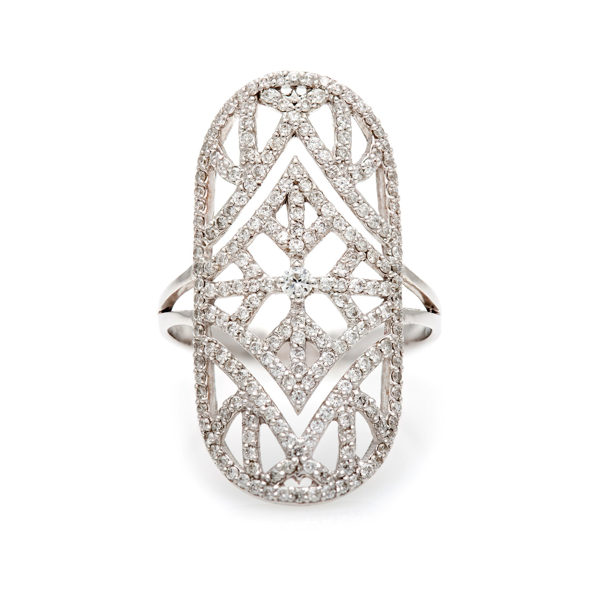 The Art Deco Ring--NEWLY REDUCED-FINAL MARKDOWN--50% OFF!