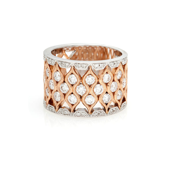 The Wide Two-Tone Ring-30% OFF!