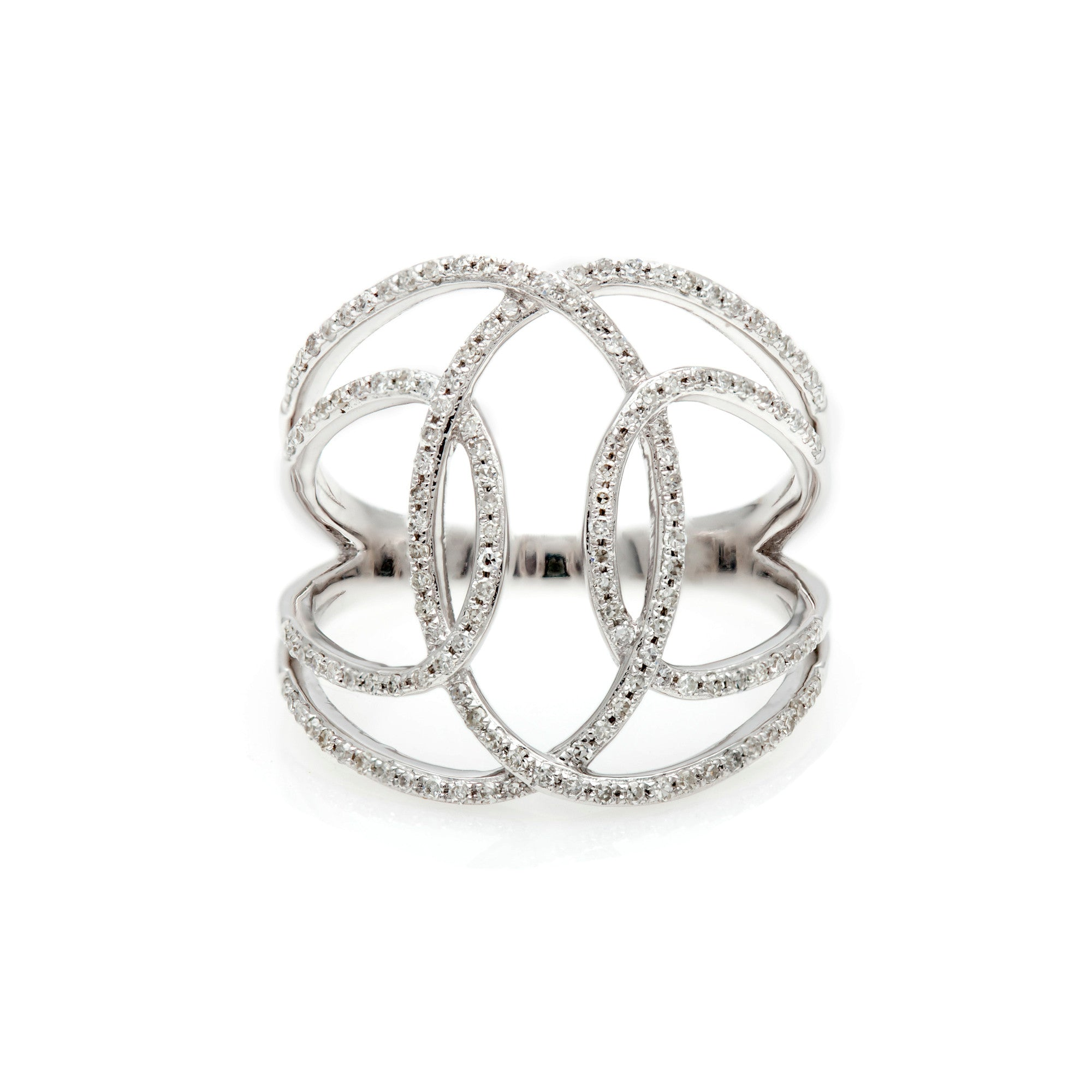 Swirls of Diamond Ring-30% OFF!