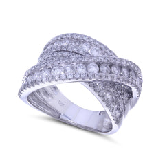 Wrapped in Diamonds Ring