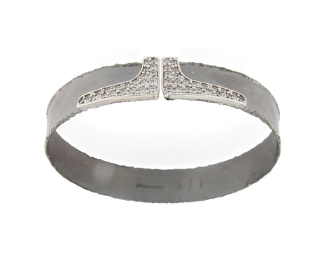 The Valentina Silver Bangle