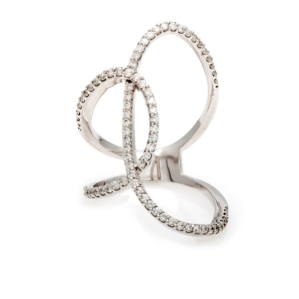 The Statement Swirl Ring-30% OFF!