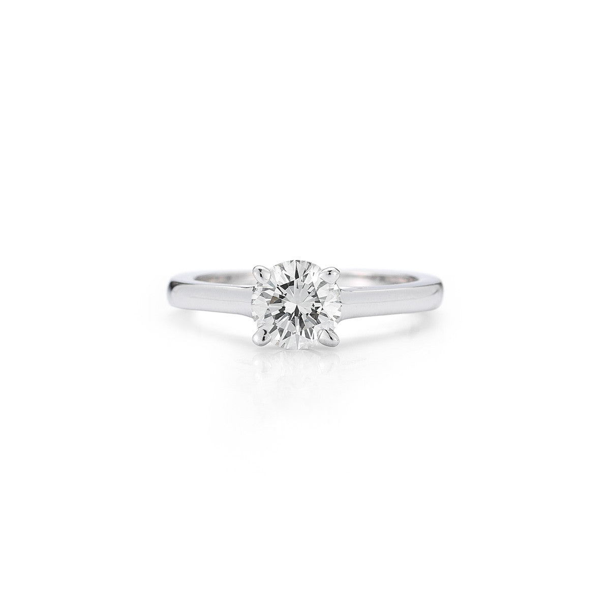 The Maharani Solitaire Engagement Ring