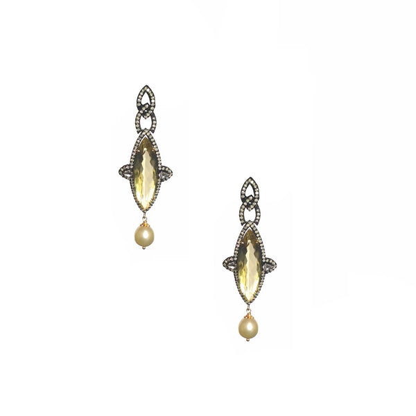 Quartz and Pearl Drops-50% OFF!