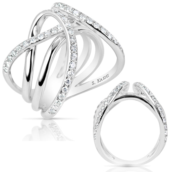 Statement Diamond Fashion Ring