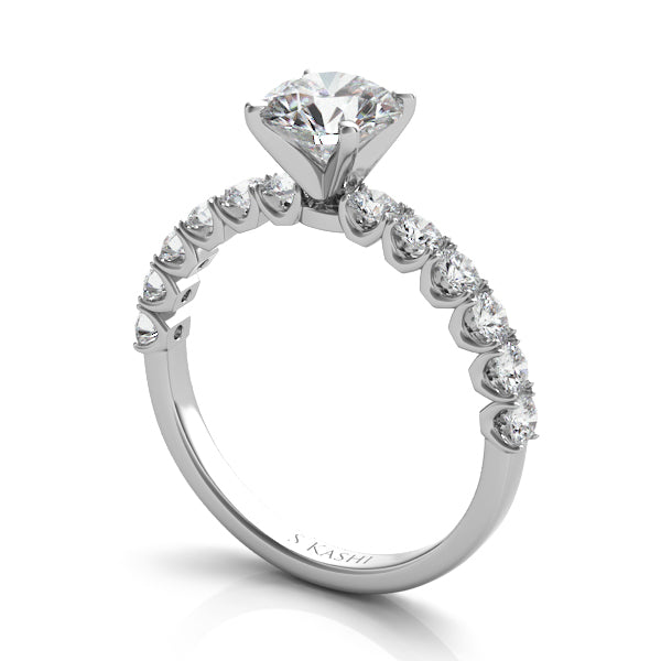 The Prong Set Engagement Ring