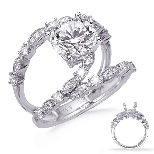 Vintage Intertwined Engagement Ring