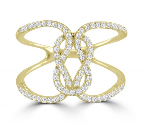 The Delicate Knot Ring-80% OFF!