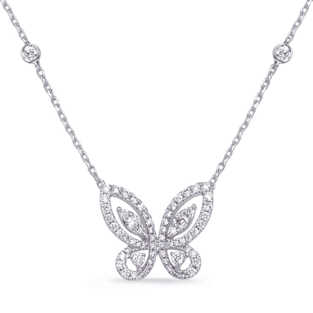 The Dazzling Butterfly Necklace--ON SALE 50% OFF!