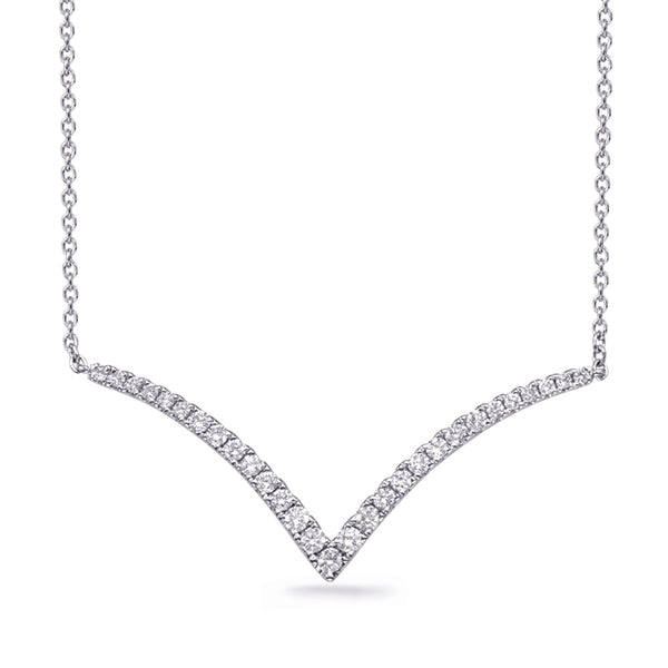 The Graceful 'V' Necklace