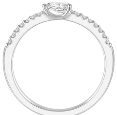 Stackable Pear Shaped Diamond Ring--30% OFF!